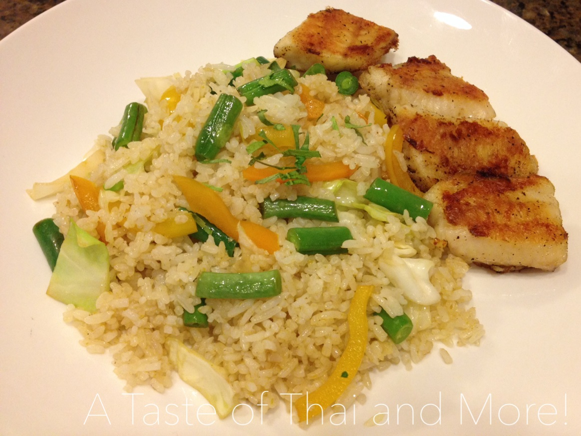 Thai Green Curry Fried-Rice | A Taste of Thai and More!